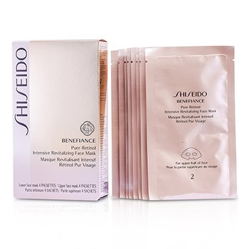 ShiseidoBenefiance Pure Retinol Intensive Revitalizing Face Mask 4pairs