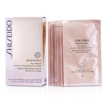 Shiseido Benefiance Pure RetinolRevitalizante Intensiva RostroM�scara  4pairs