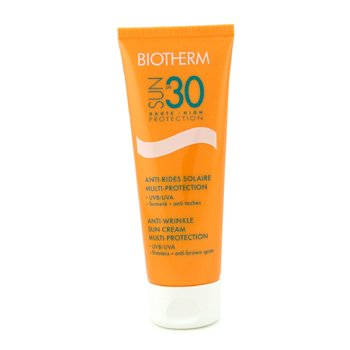 Biotherm-Sun Multi Protection Anti Wrinkle Sun Cream SPF30 UVB/UVA+++