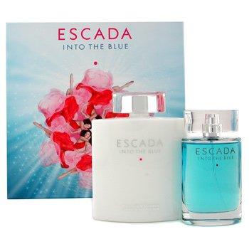 Escada-Into The Blue Coffret: Eau De Parfum Spray 75ml + Body Moisturizer 200ml