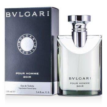 BvlgariPour Homme Soir Eau De Toilette Spray 100ml/3.4oz