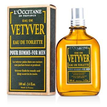 Vetyver Eau De Toilette Spray L'Occitane Vetyver Eau De Toilette Spray 100ml/3.4oz