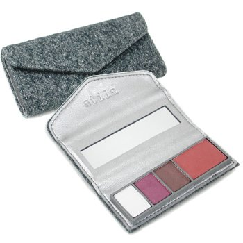 Stila-Perfectly Plum Eye & Cheek Palette: 3x Eyeshadow, 1x Cheek Color ( Unboxed )