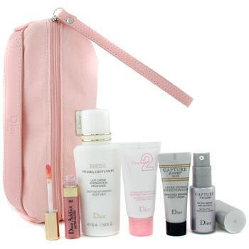 Christian Dior-Travel Set: Bikini Hydra Diffusion+ Capture XR 60/80 Serum+ Capture R60/80 Nuit+ Addict Gloss.....