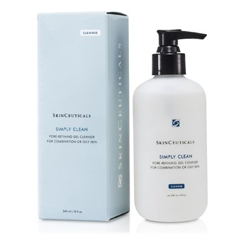 Skin CeuticalsSimply Clean Pore Refining Gel Cleanser (For Combination/ Oily Skin) 240ml/8oz