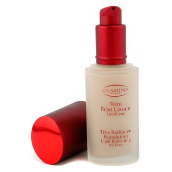 Clarins-True Radiance Foundation Light Reflecting Oil Free - #01 Natural