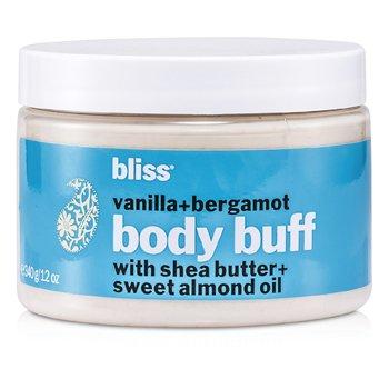 BlissVanilla + Bergamont Body Buff 340g/12oz