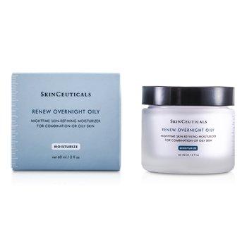 Skin Ceuticals Renew Overnight Oily - Renovador noche ( Piel Mixta o Grasa )  60ml/2oz