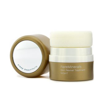 PowderRareMinerals Skin Revival Treatment (Night) - Tan 4.2g/0.15oz