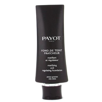 Payot-Fond De Teint Fraicheur Matifying & Regulating Foundation - No. 04 Caramel