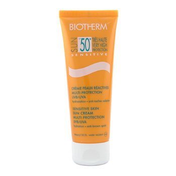 Biotherm-Sun Sensitive Sensitive Skin Sun Cream Multi-Protection SPF 50 UVB/UVA