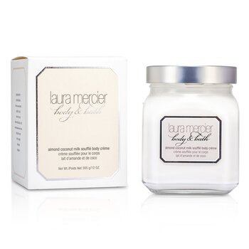 Laura Mercier Almond Coconut Milk Souffle Body Creme  300g/12oz