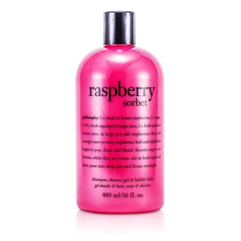Philosophy Raspberry Sorbet Champ� y Gel de Ducha (Frambuesa)  473.1ml/16oz