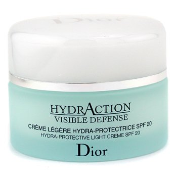Christian Dior-HydrAction Visible Defense Hydra Protectives Light Cream SPF20