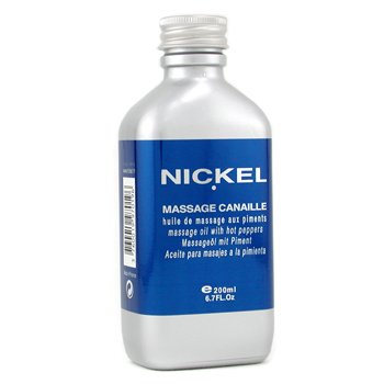 Nickel-Massage Oil with Hot Peppers