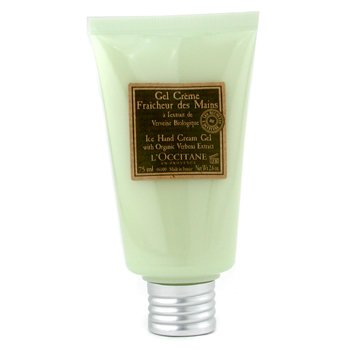 Verbena Harvest Ice Hand Cream Gel L'Occitane Verbena Harvest Ice Hand Cream Gel 75ml/2.6oz