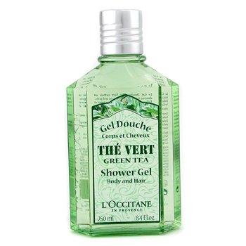 Green Tea Shower Gel (For Body & Hair) L'Occitane Green Tea Shower Gel (For Body & Hair) 250ml/8.4oz