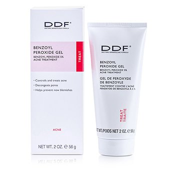 DDF Benzoyl Peroxide Gel 5% with Tea Tree Oil  56.8g/2oz