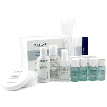 DDF-7 Day Radiance Peel Kit: 7x Radiance Solution+ Neutralizer Solution+ Pads+ Serum+ Day Cream+ Swabs