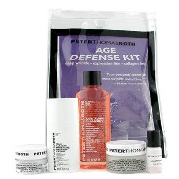 Peter Thomas Roth-Age Defense Kit:Cleansing Gel 57ml + Un Wrinkle 3ml + Eye Cream 9g + Day Cream 15g + Night Cream 22g