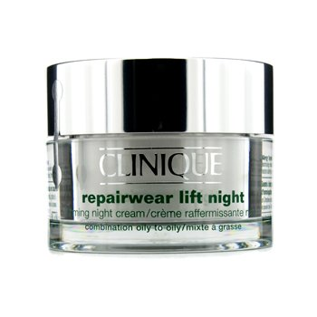 Clinique Repairwear Lift Firming Night Cream (For Combination Oily to Oily)  50ml/1.7oz