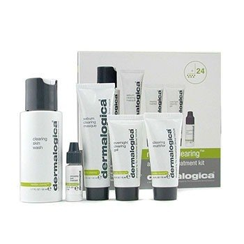 Set ViajeMediBac Clearing Adult Acne Tratamiento Kit 5pcs