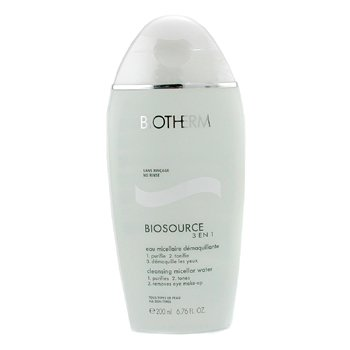 Biotherm-Biosource Eau Micellaire 3-En-1 Cleanser, Toner & Eye Make-Up Remover
