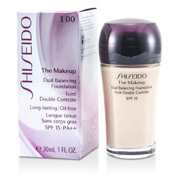 Shiseido-The Makeup Dual Balancing Foundation SPF15 - I00 Very Light Ivory