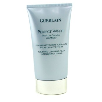 Guerlain-Perfect White Pearl Lily Complex Advanced Intense Brightening Purifying Cleansing Foam