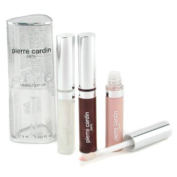 Pierre Cardin Beaute-Magical Lips Palette ( 3x Plastic Shine Lipstick + 2x Magic Gloss )