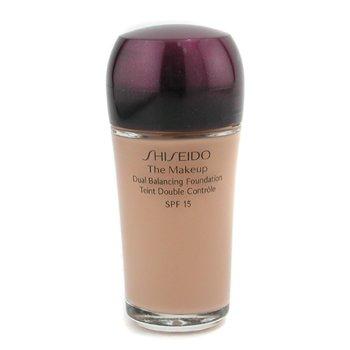 Shiseido-The Makeup Dual Balancing Foundation SPF15 - I60 Natural Deep Ivory