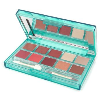 Estee Lauder-Emerald Dream Lip & Eye Color Palette ( 4x Eye Shadow + 6x Lip Color )