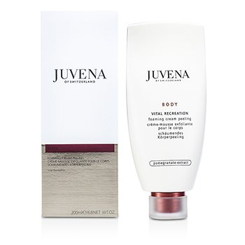 Juvena Body Vital Recreation Foaming Cream Peel 200ml/6.8oz