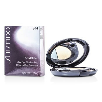 Shiseido-The Makeup Silky Eyeshadow Duo - S14 Glistening Patina