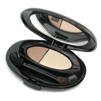 Shiseido-The Makeup Silky Eyeshadow Duo - S18 Golden Topaz