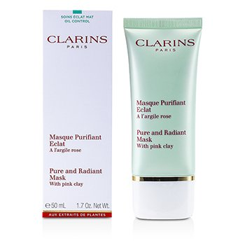 ClarinsTruly Matte Pure & Radiant Mask With Pink Clay 50ml/1.7oz