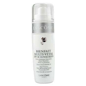 Lancome-Bienfait Multi-Vital High Potency Daily Moisturizing Cream Vitamin Enriched SPF30 ( Made in USA )