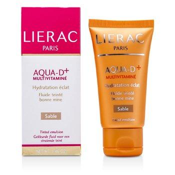 Lierac-Aqua D+ Multivitamine Teinted Emulsion - Sable