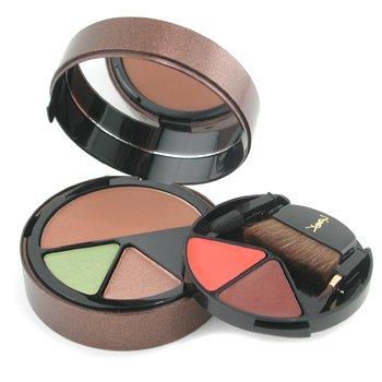 Yves Saint Laurent-Sensation Soleil MakeUp Palette ( 1x Bronzing Powder, 2x E/Shadow, 2x Shiny Lipstick ) - # 1