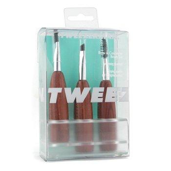 Tweezerman-Brow & Concealer Brush Set