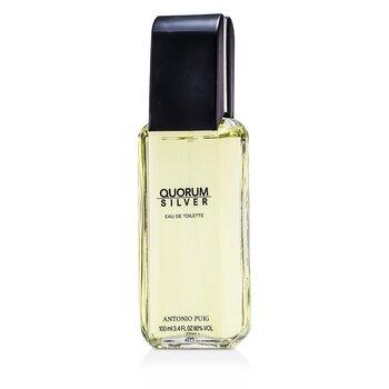 Puig Quorum Silver Eau De Toilette Spray 100ml/3.4oz