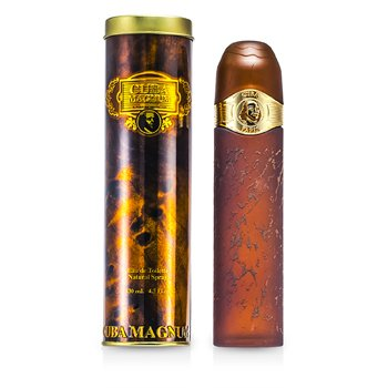 Cuba Magnum Gold Eau De Toilette Spray  125ml/4.2oz