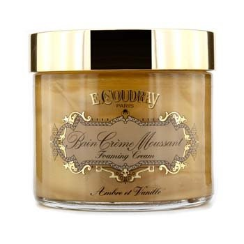 E Coudray Ambre & Vanille Bath and Shower Foaming Cream  250ml/8.4oz