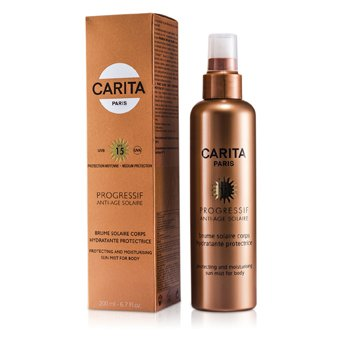 CaritaProgressif Anti-Age Solaire Protecting & Moisturizing Sun Mist for Body SPF 15 200ml/6.7oz