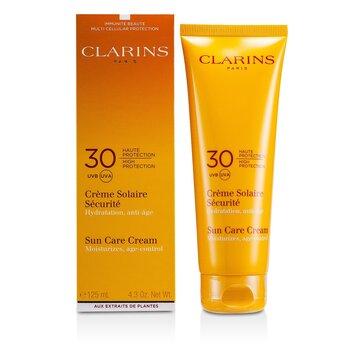 Clarins Crema Solar de Alta Protecci�n SPF30 (Para Piel Sensible)  125ml/4.4oz