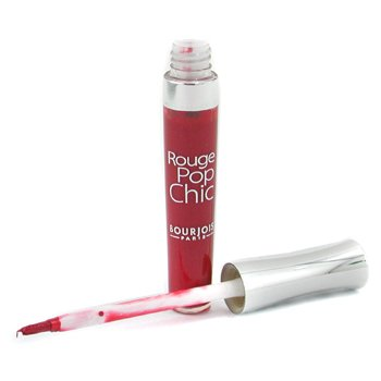 Bourjois-Rouge Pop Chic Lipgloss - # 08 Rouge So Red