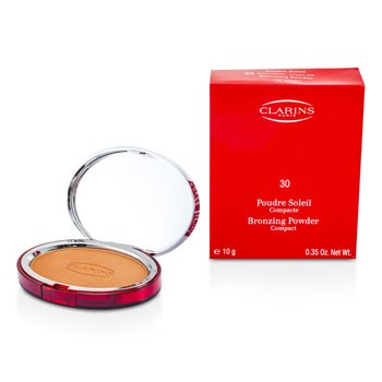 Clarins-Bronzing Powder Compact - # 30 Copper Sun