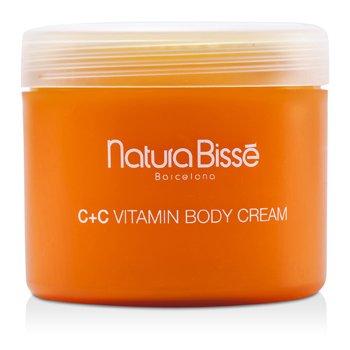 Natura BisseC+C Vitamin Crema Corporal 500ml/17oz