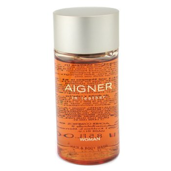 Aigner-Aigner In Leather Hair & Body Wash