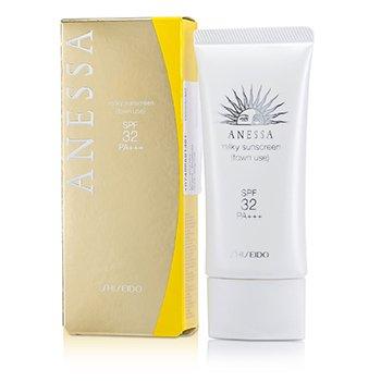 ShiseidoAnessa town Use Milky Sunscreen (Pelindung Sinaran Matahari ) SPF 32 PA+++ 60g/2oz